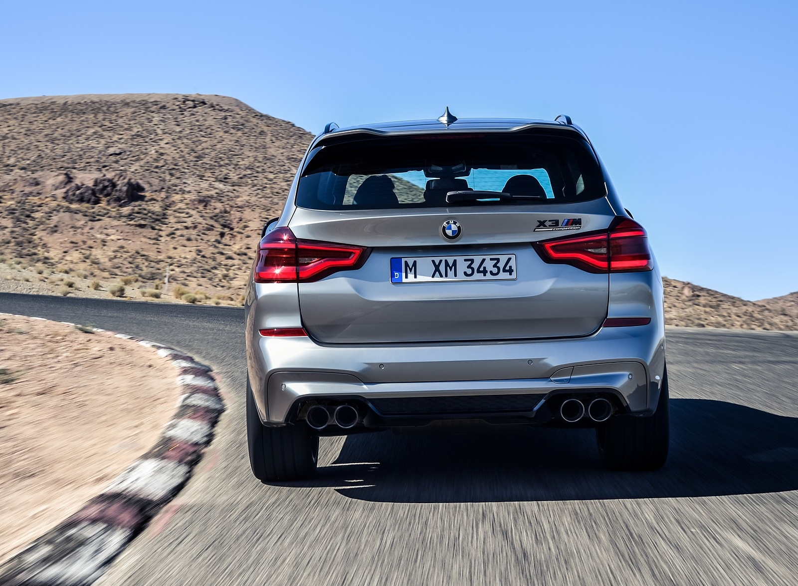 2020 BMW X3 M Competition Rear Wallpapers (7)