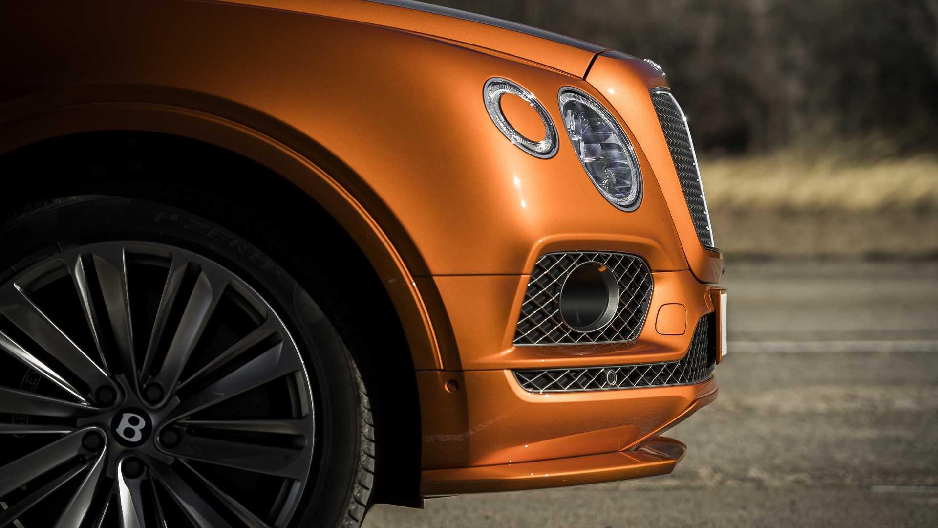 2020 Bentley Bentayga Speed Detail Wallpaper (11)
