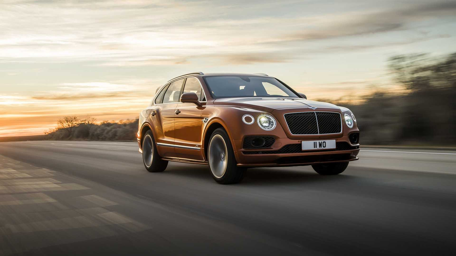 2020 Bentley Bentayga Speed Front Wallpapers (2)