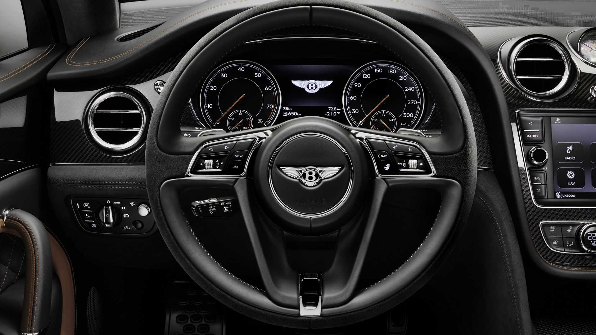 2020 Bentley Bentayga Speed Interior Steering Wheel Wallpapers 25 Newcarcars