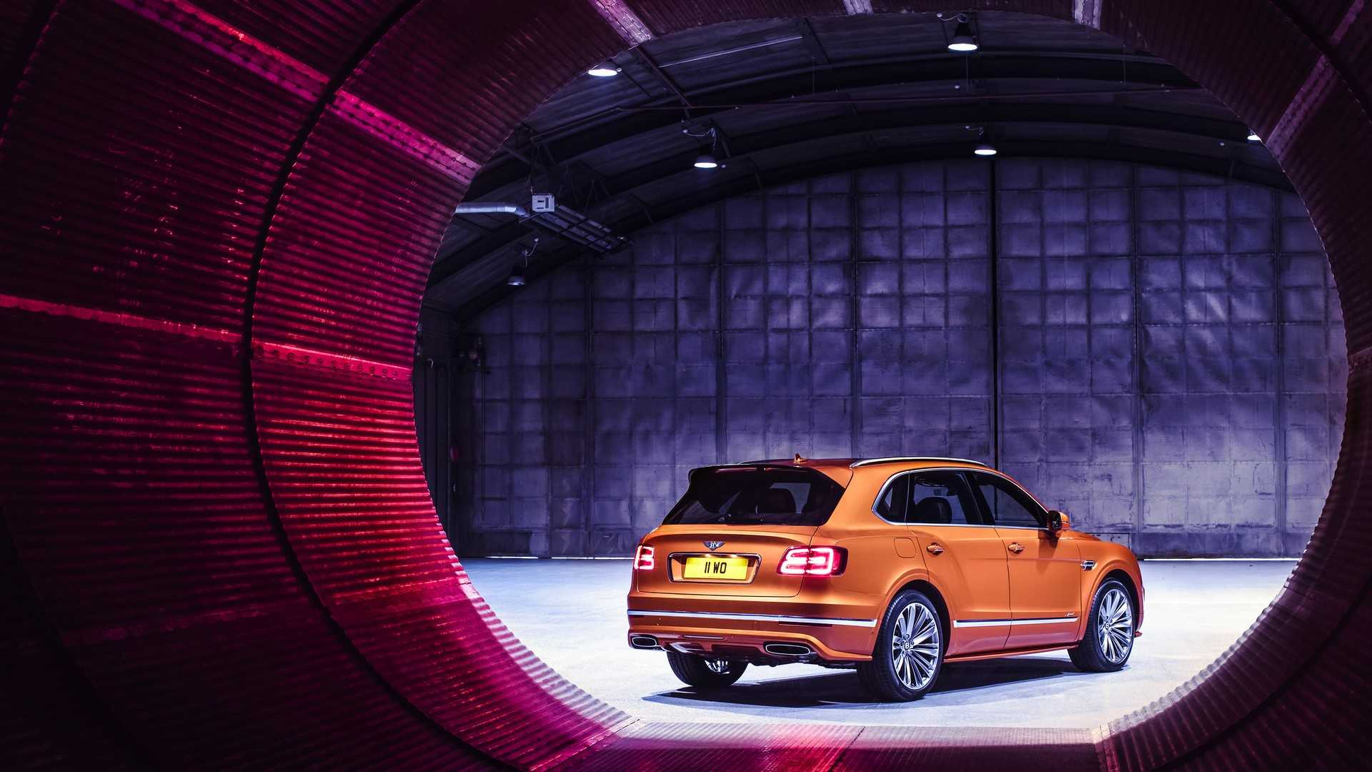 2020 Bentley Bentayga Speed Rear Three-Quarter Wallpapers (8)