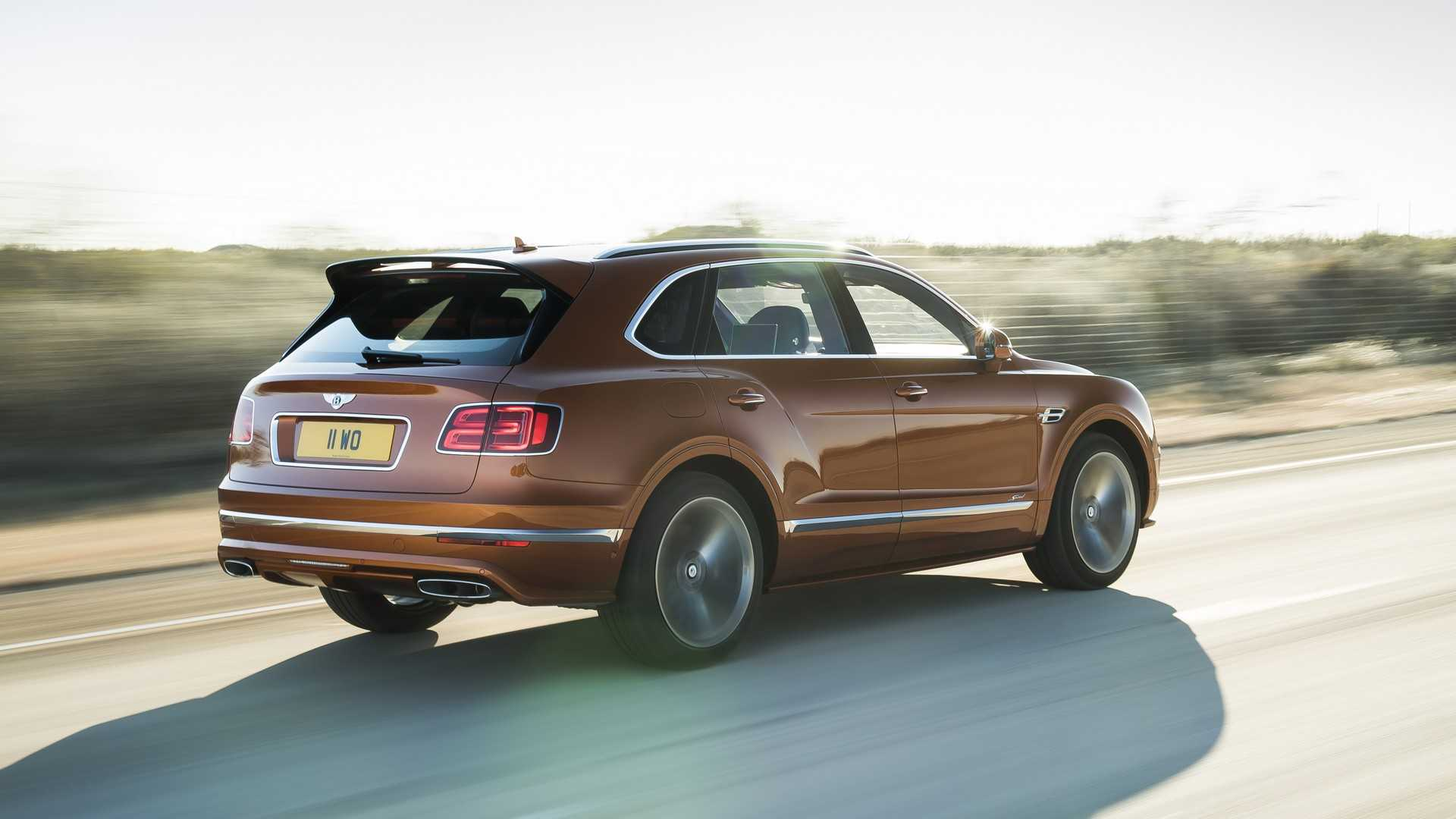 2020 Bentley Bentayga Speed Rear Three-Quarter Wallpapers (7)