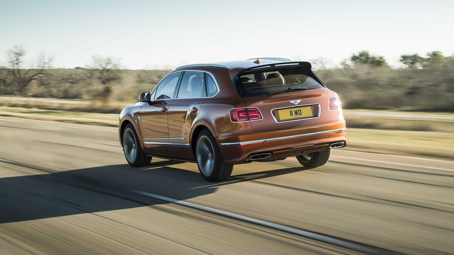 2020 Bentley Bentayga Speed Rear Wallpapers (4)