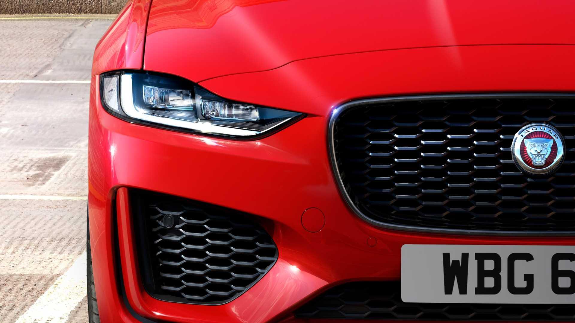 2020 Jaguar XE Front Bumper Wallpaper (9)