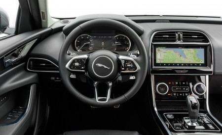2020 Jaguar XE S D180 (Color: Eiger Grey) Interior Cockpit Wallpapers 450x275 (55)