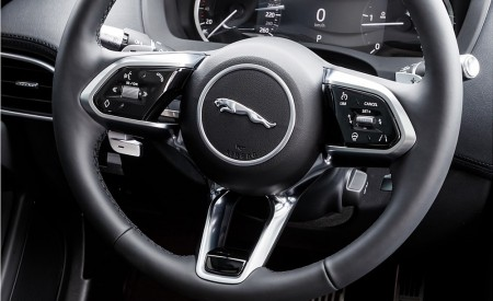 2020 Jaguar XE S D180 (Color: Eiger Grey) Interior Steering Wheel Wallpapers 450x275 (59)