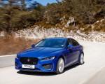 2020 Jaguar XE S R-Dynamic P250 (Color: Caesium Blue) Front Three-Quarter Wallpapers 150x120