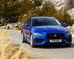 2020 Jaguar XE S R-Dynamic P250 (Color: Caesium Blue) Front Wallpapers 150x120