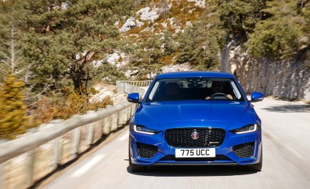 2020 Jaguar XE S R-Dynamic P250 (Color: Caesium Blue) Front Wallpapers 450x275 (63)