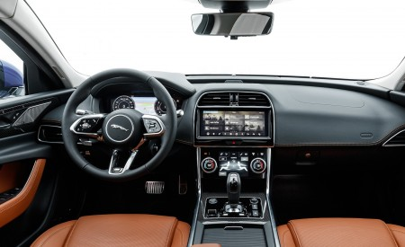 2020 Jaguar XE S R-Dynamic P250 (Color: Caesium Blue) Interior Cockpit Wallpapers 450x275 (83)