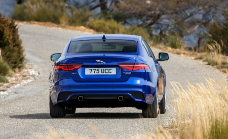 2020 Jaguar XE S R-Dynamic P250 (Color: Caesium Blue) Rear Wallpapers 450x275 (78)