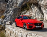 2020 Jaguar XE S R-Dynamic P300 (Color: Caldera Red) Front Three-Quarter Wallpapers 150x120 (11)