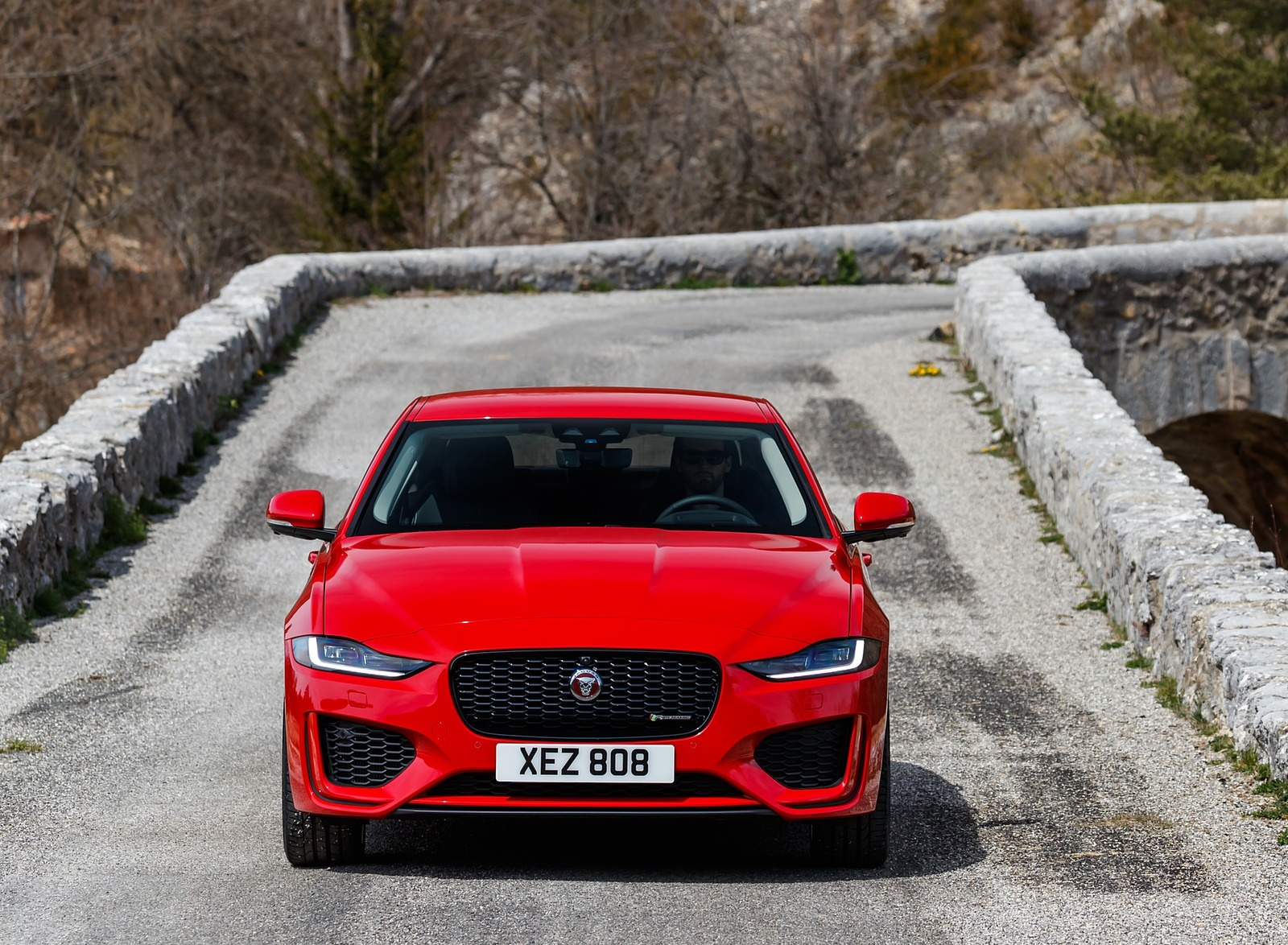 2020 Jaguar XE S R-Dynamic P300 (Color: Caldera Red) Front Wallpapers (12)