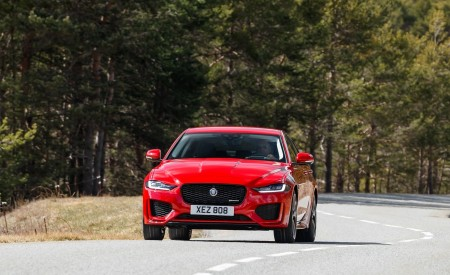 2020 Jaguar XE S R-Dynamic P300 (Color: Caldera Red) Front Wallpapers 450x275 (3)