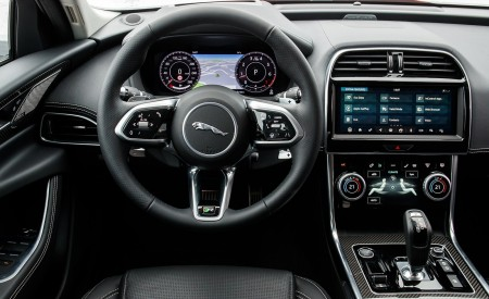 2020 Jaguar XE S R-Dynamic P300 (Color: Caldera Red) Interior Cockpit Wallpapers 450x275 (30)