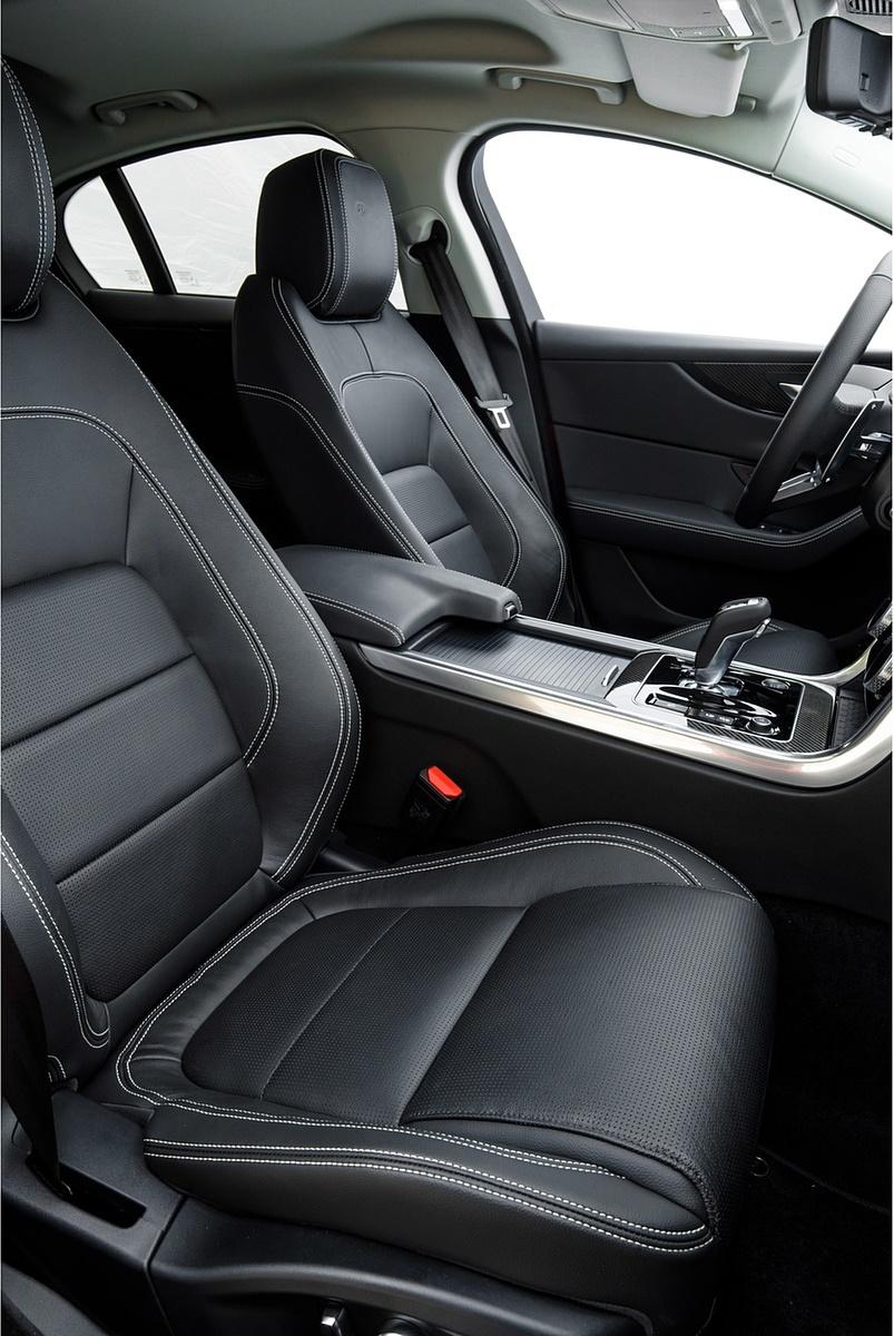 2020 Jaguar Xe S R Dynamic P300 Color Caldera Red Interior
