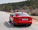 2020 Jaguar XE S R-Dynamic P300 (Color: Caldera Red) Rear Three-Quarter Wallpapers 150x120 (4)