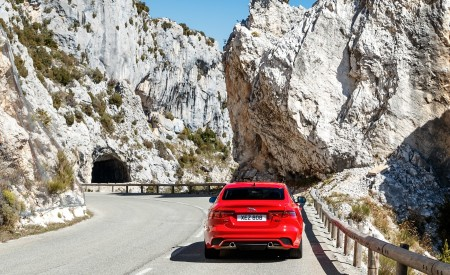2020 Jaguar XE S R-Dynamic P300 (Color: Caldera Red) Rear Wallpapers 450x275 (18)