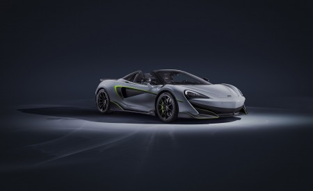 2020 McLaren 600LT Spider By MSO Wallpapers HD