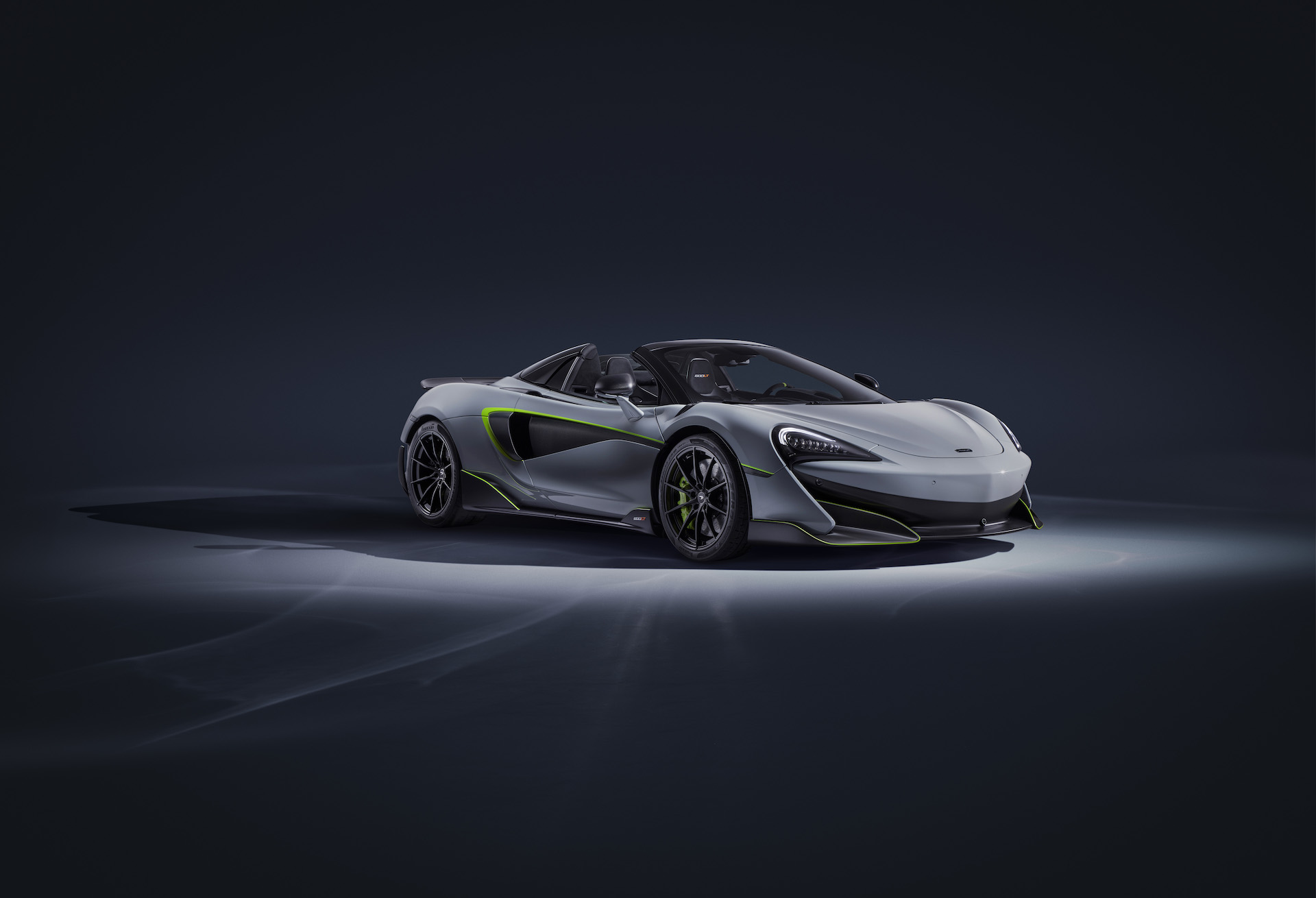 2020 McLaren 600LT Spider by MSO Front Three-Quarter Wallpaper (1)