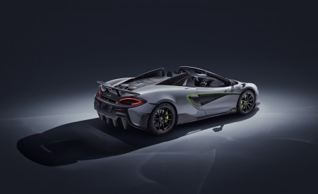 2020 McLaren 600LT Spider by MSO Rear Three-Quarter Wallpapers 450x275 (2)