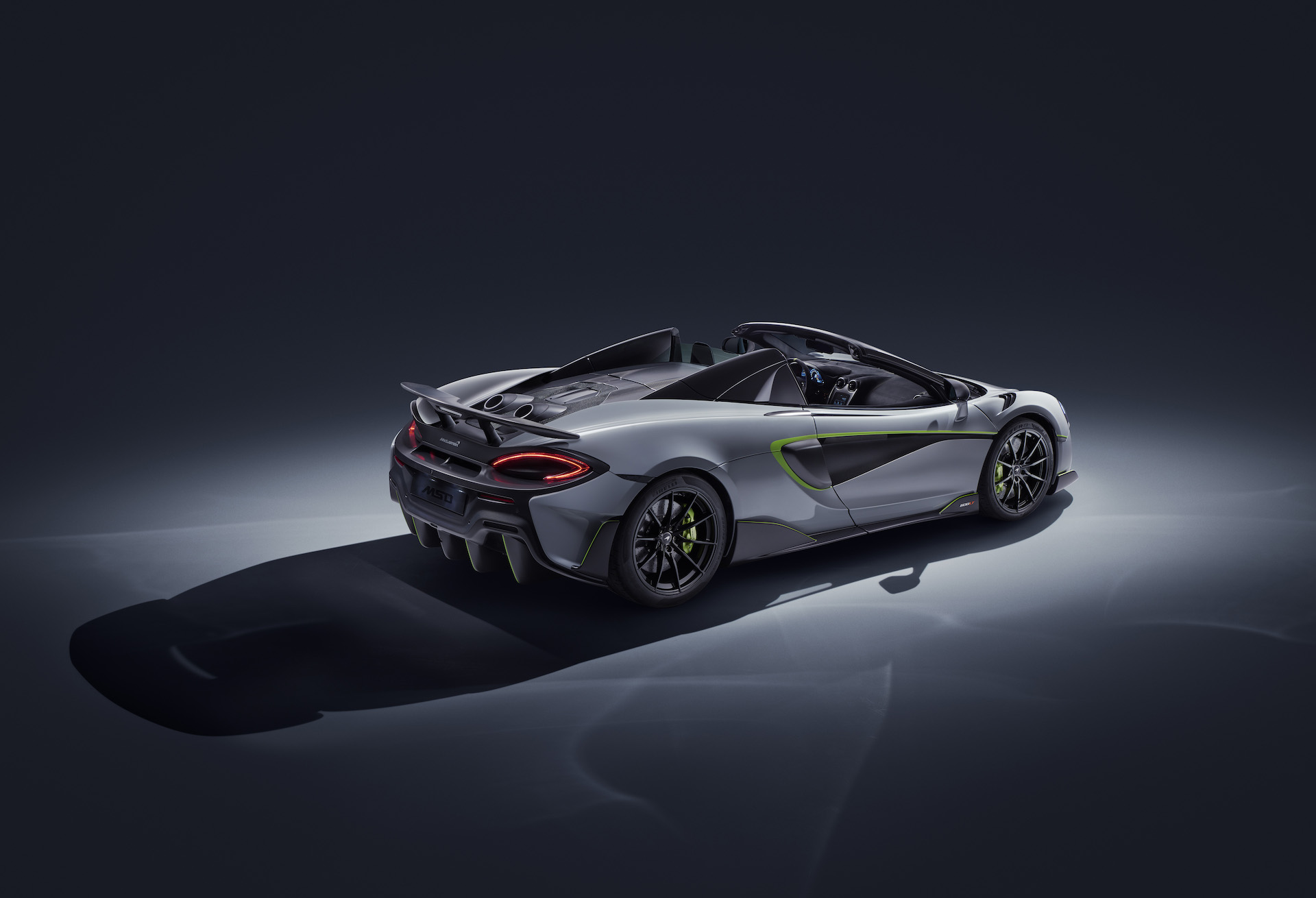 2020 McLaren 600LT Spider by MSO Rear Three-Quarter Wallpaper (2)