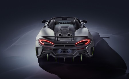 2020 McLaren 600LT Spider by MSO Rear Wallpapers 450x275 (3)