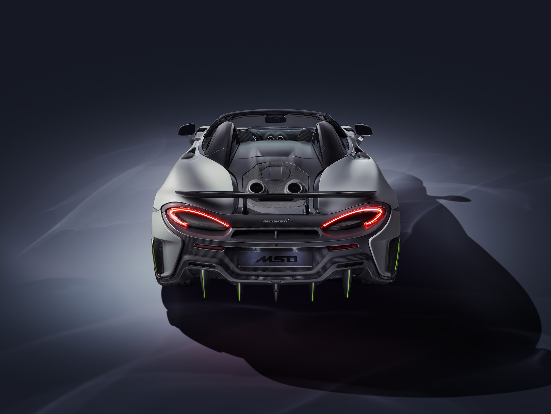 2020 McLaren 600LT Spider by MSO Rear Wallpaper (3)