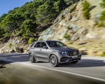 2020 Mercedes-AMG GLE 53 4MATIC+ (Color: Selenite Grey) Front Three-Quarter Wallpapers 150x120 (2)