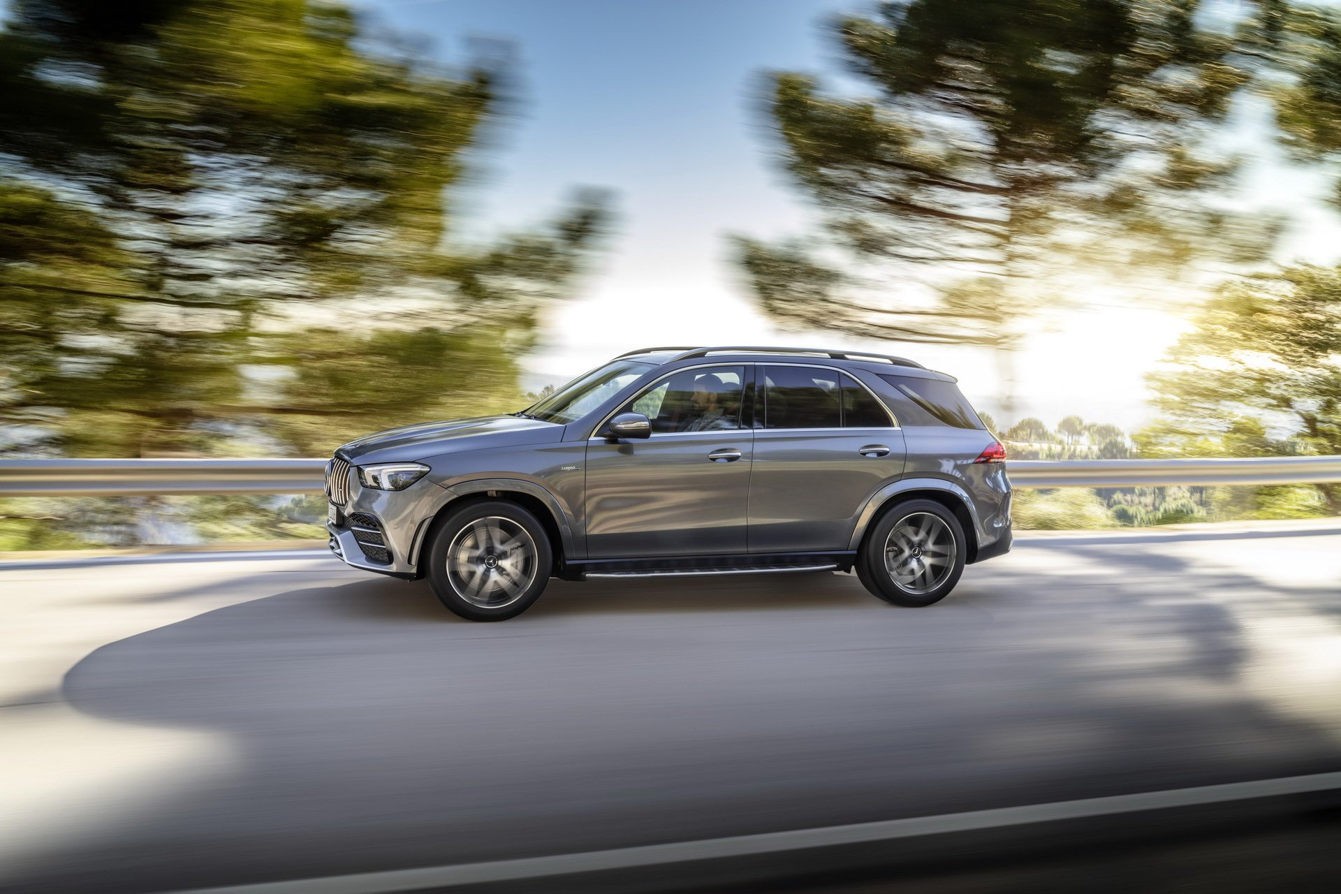 2020 Mercedes-AMG GLE 53 4MATIC+ (Color: Selenite Grey) Side Wallpapers (6)