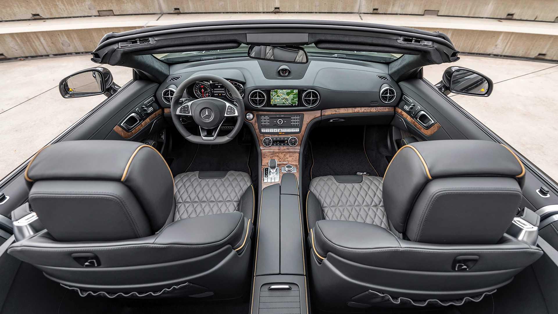 2020 Mercedes-Benz SL 500 Grand Edition (Color: Graphite Grey) Interior Cockpit Wallpapers (11)