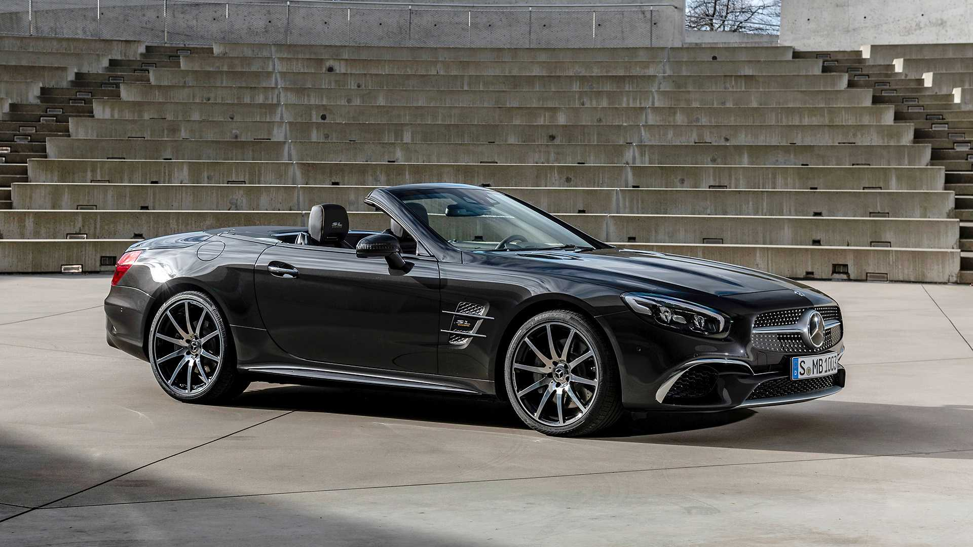 2020 Mercedes-Benz SL 500 Grand Edition (Color: Graphite Grey) Side Wallpapers (6)
