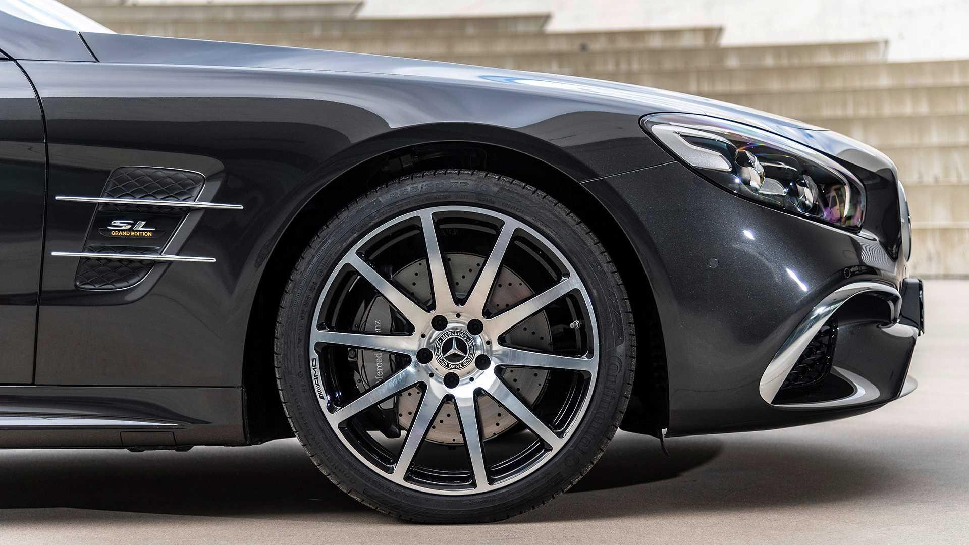 2020 Mercedes-Benz SL 500 Grand Edition (Color: Graphite Grey) Wheel Wallpapers (7)
