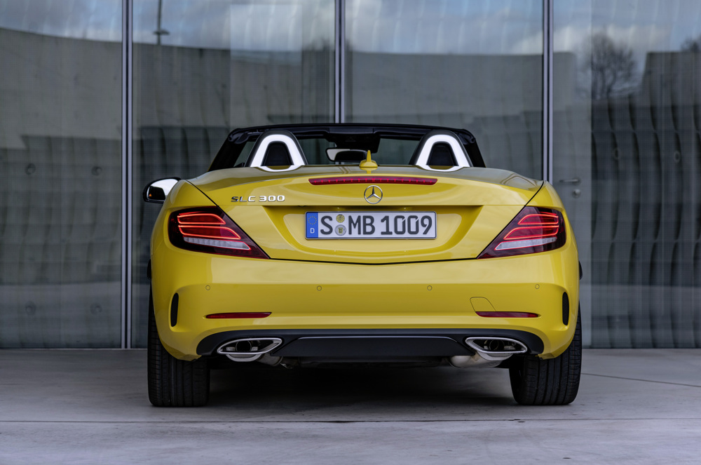 2020 Mercedes-Benz SLC 300 Final Edition Rear Wallpaper (3)