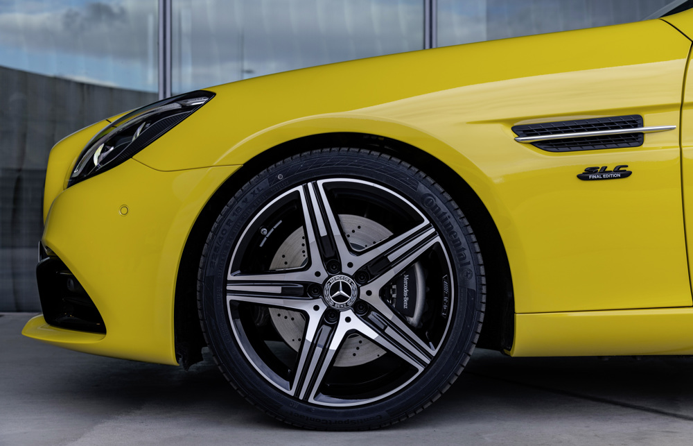 2020 Mercedes-Benz SLC 300 Final Edition Wheel Wallpaper (10)