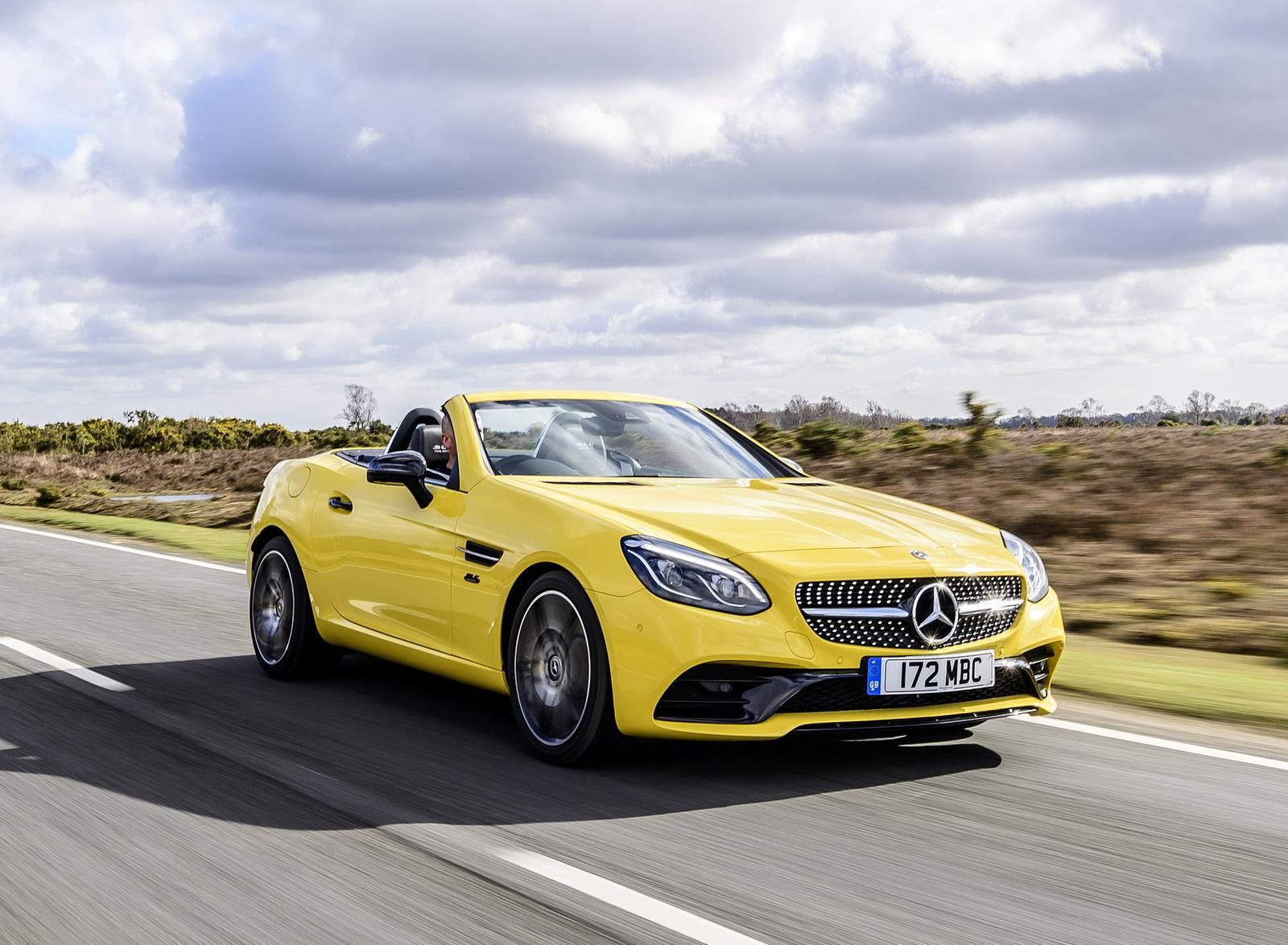 2020 Mercedes-Benz SLC Final Edition (UK-Spec) Front Three-Quarter Wallpapers (3)