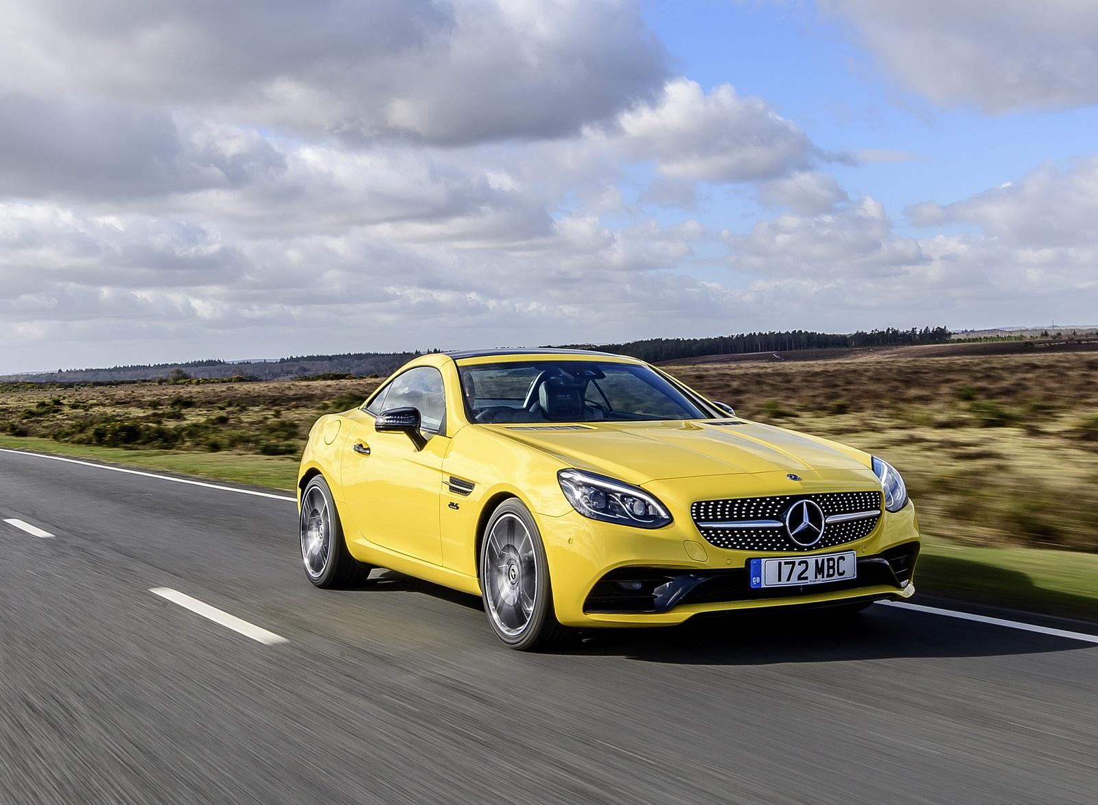 2020 Mercedes-Benz SLC Final Edition (UK-Spec) Front Three-Quarter Wallpapers (4)