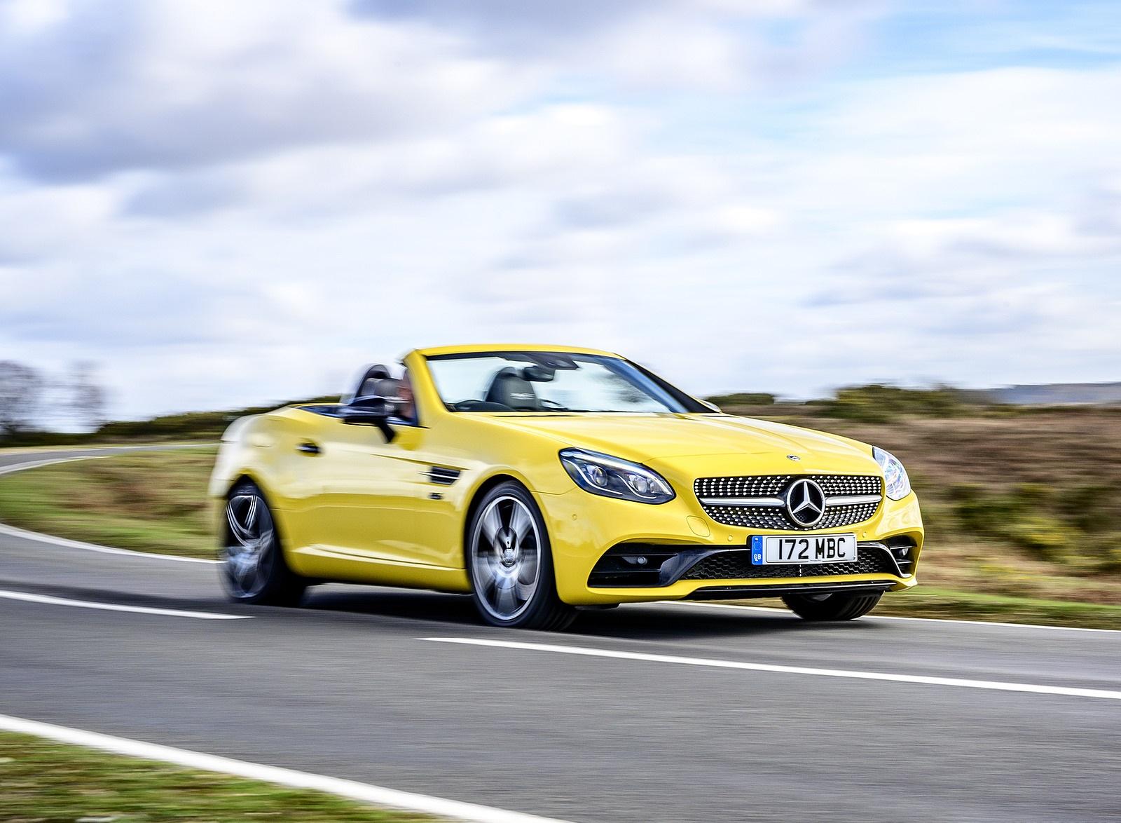 2020 Mercedes-Benz SLC Final Edition (UK-Spec) Front Three-Quarter Wallpapers (8)