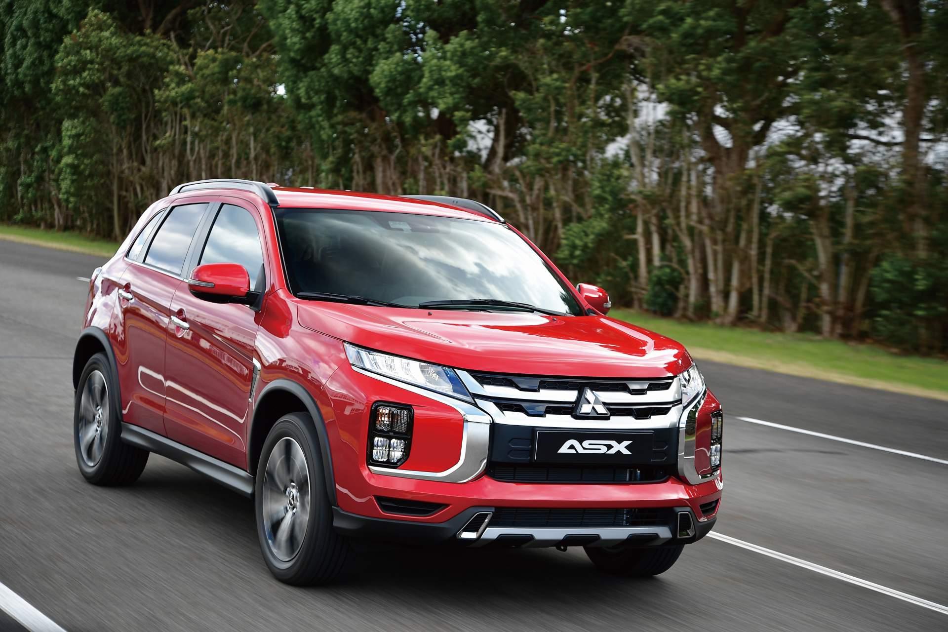 2020 Mitsubishi Outlander Sport Front Three-Quarter Wallpapers (5)