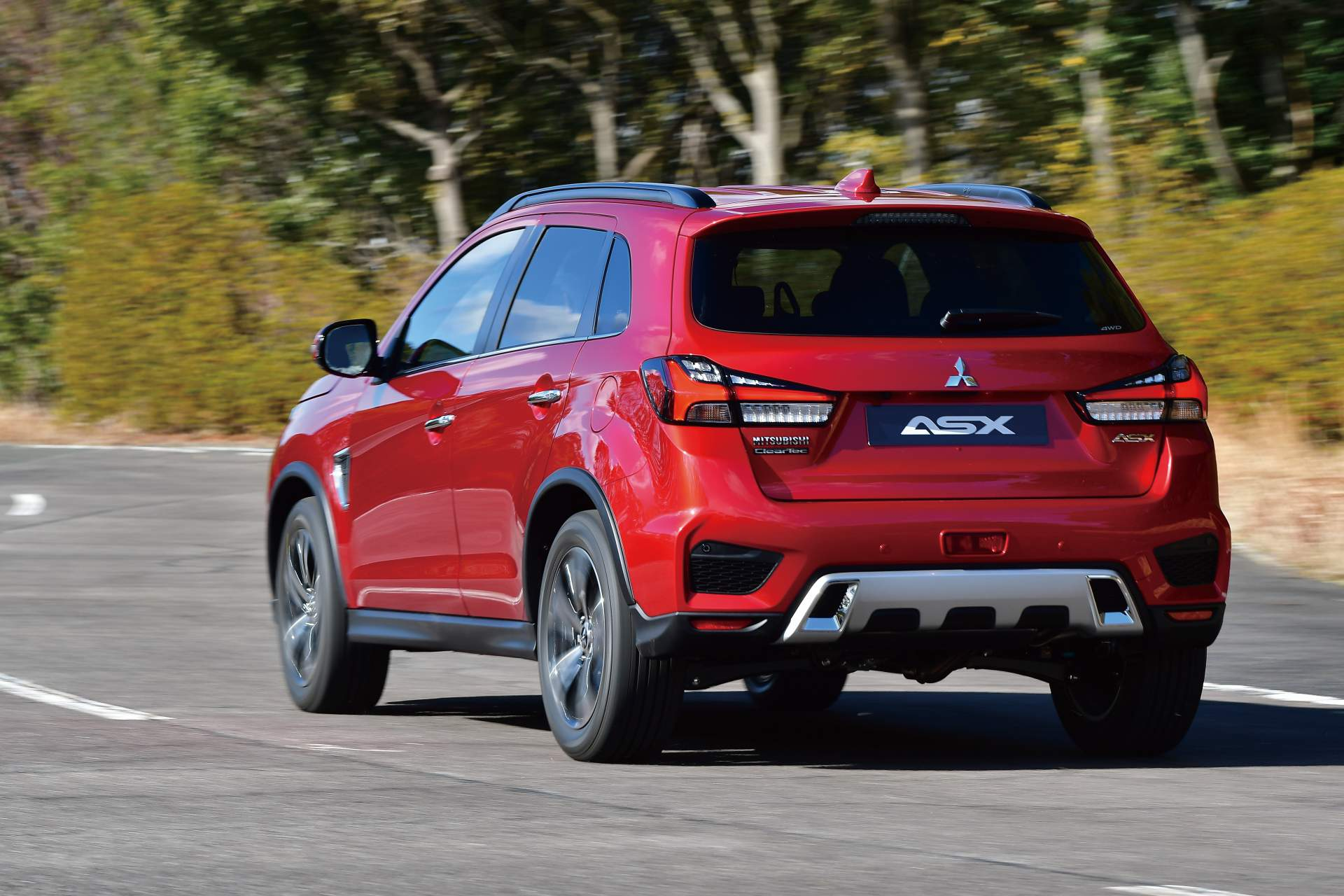 2020 Mitsubishi Outlander Sport Rear Wallpaper 19 Hd Wallpapers