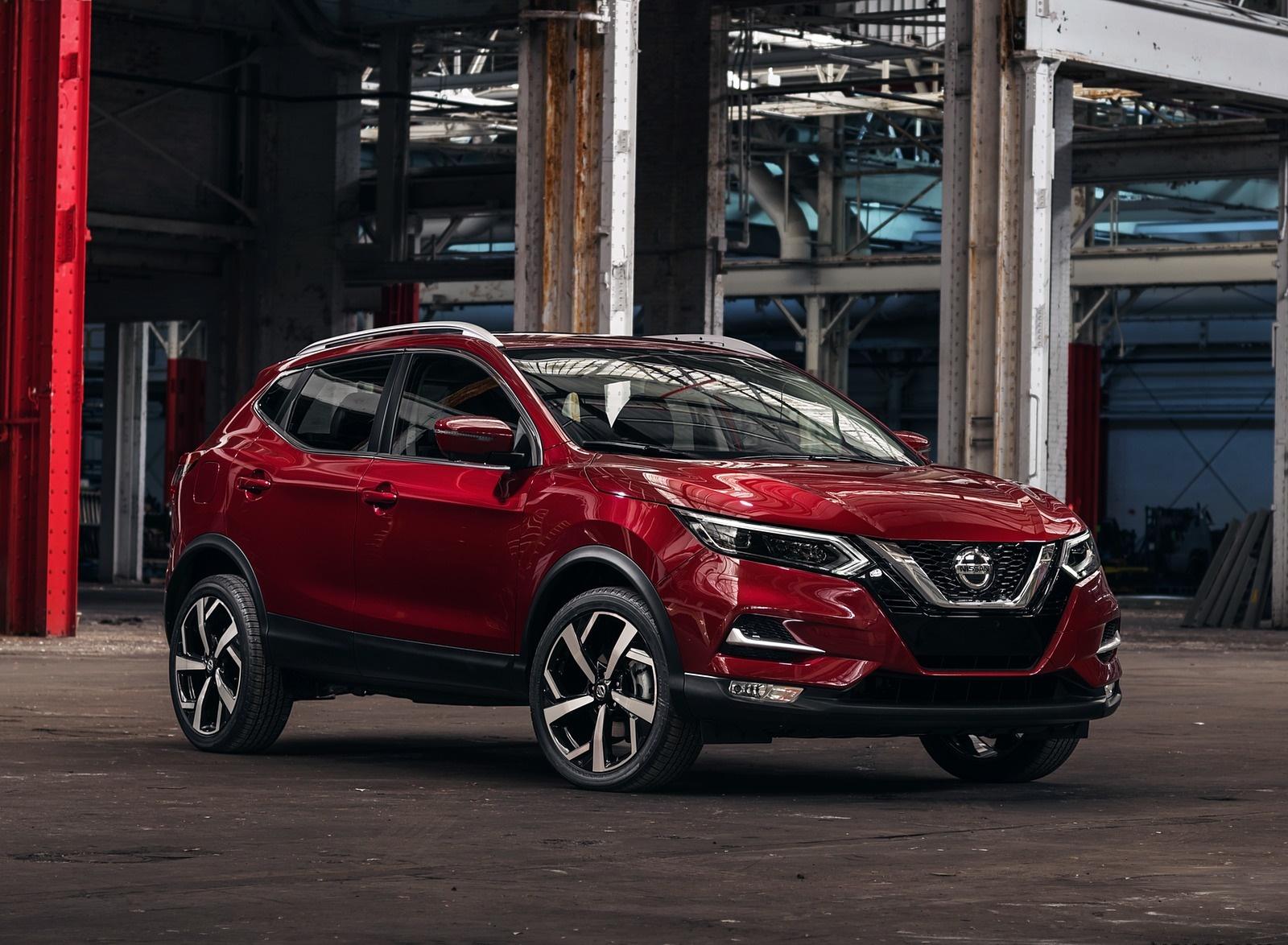 2020 Nissan Rogue Sport Front Three-Quarter Wallpapers (1)