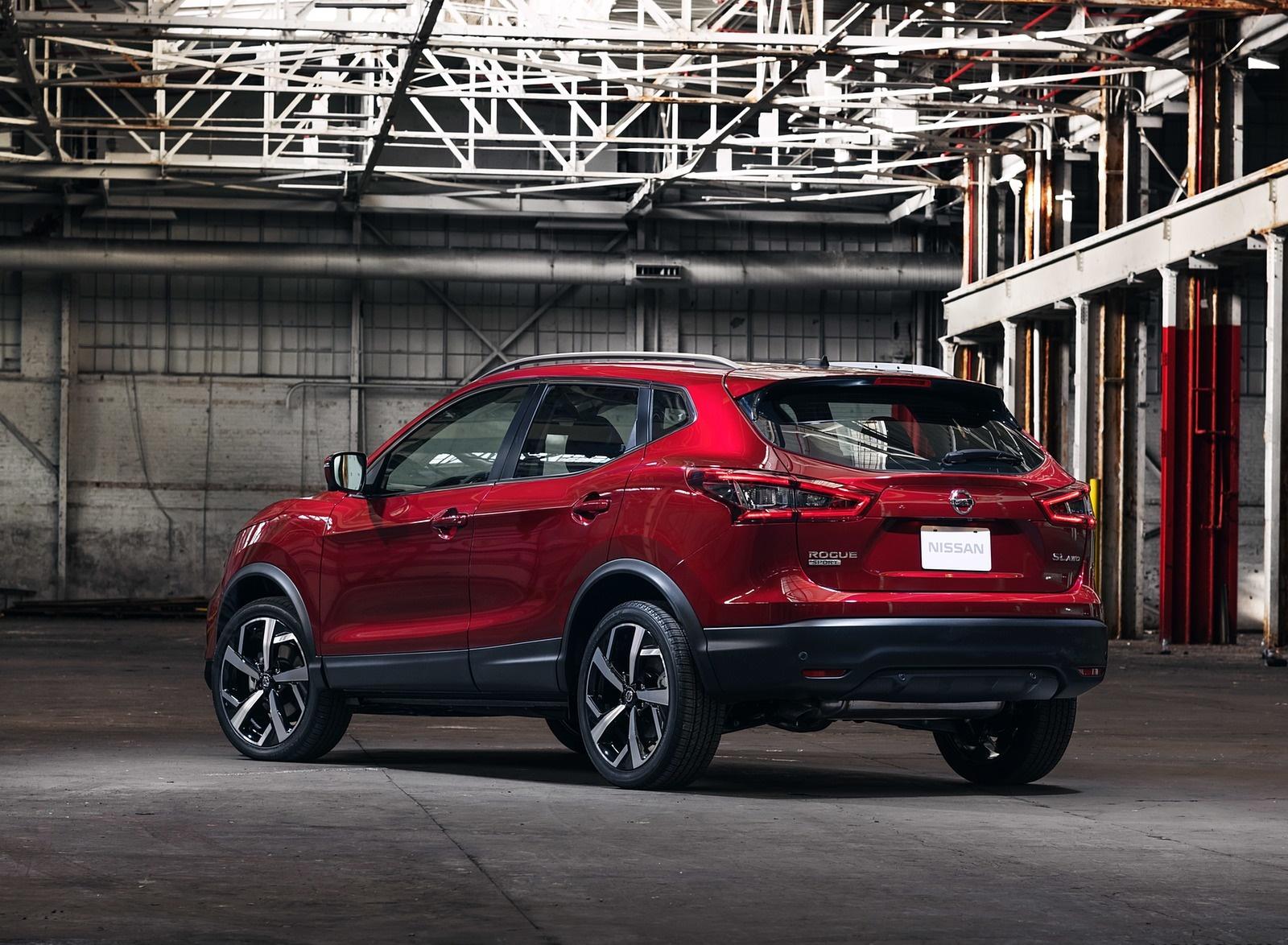 2020 Nissan Rogue Sport Rear Three-Quarter Wallpapers (3)