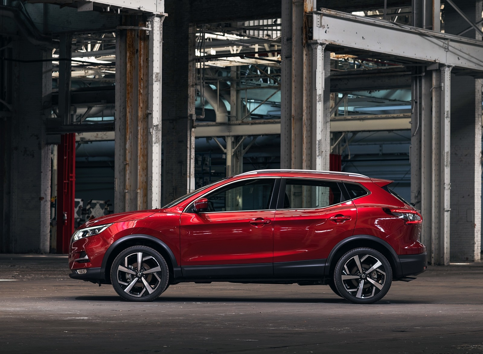 2020 Nissan Rogue Sport Side Wallpapers (4)