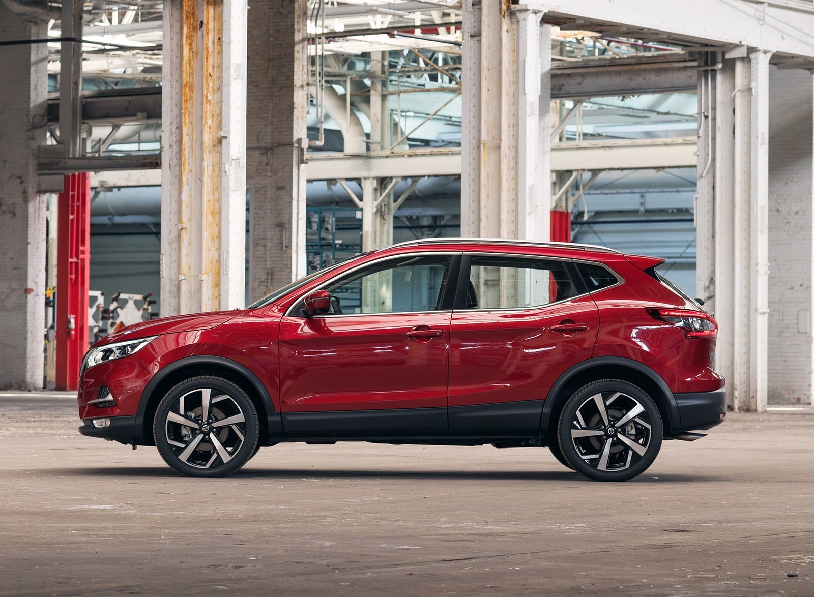 2020 Nissan Rogue Sport Side Wallpapers (5)