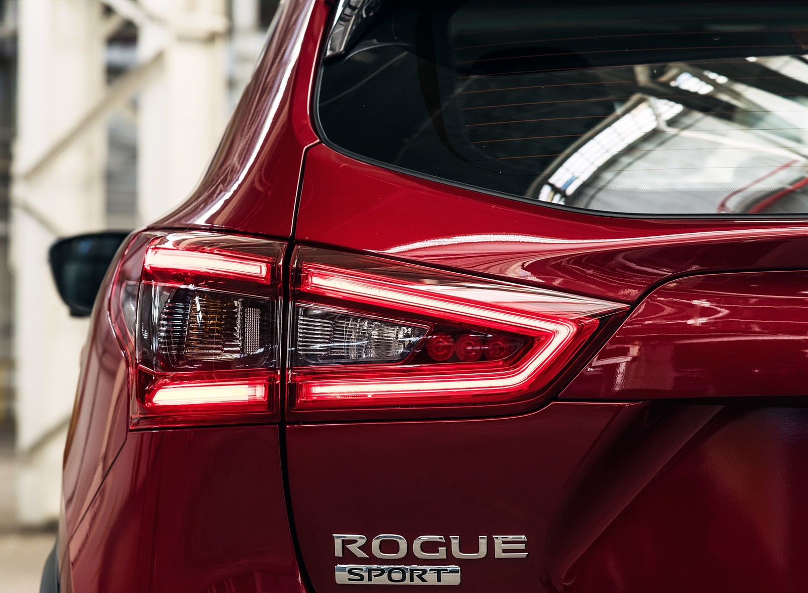 2020 Nissan Rogue Sport Tail Light Wallpapers (13)