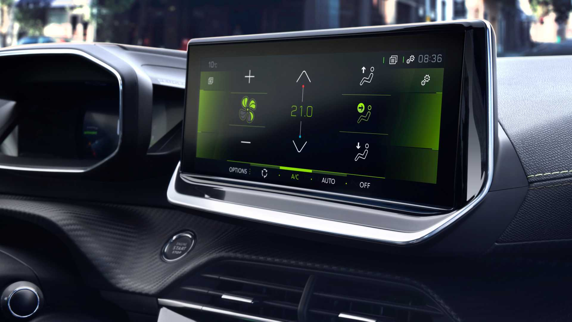 2020 Peugeot 208 Central Console Wallpapers (10)