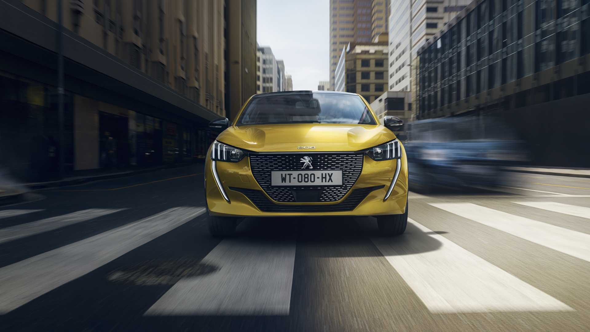 2020 Peugeot 208 Front Wallpapers (1)