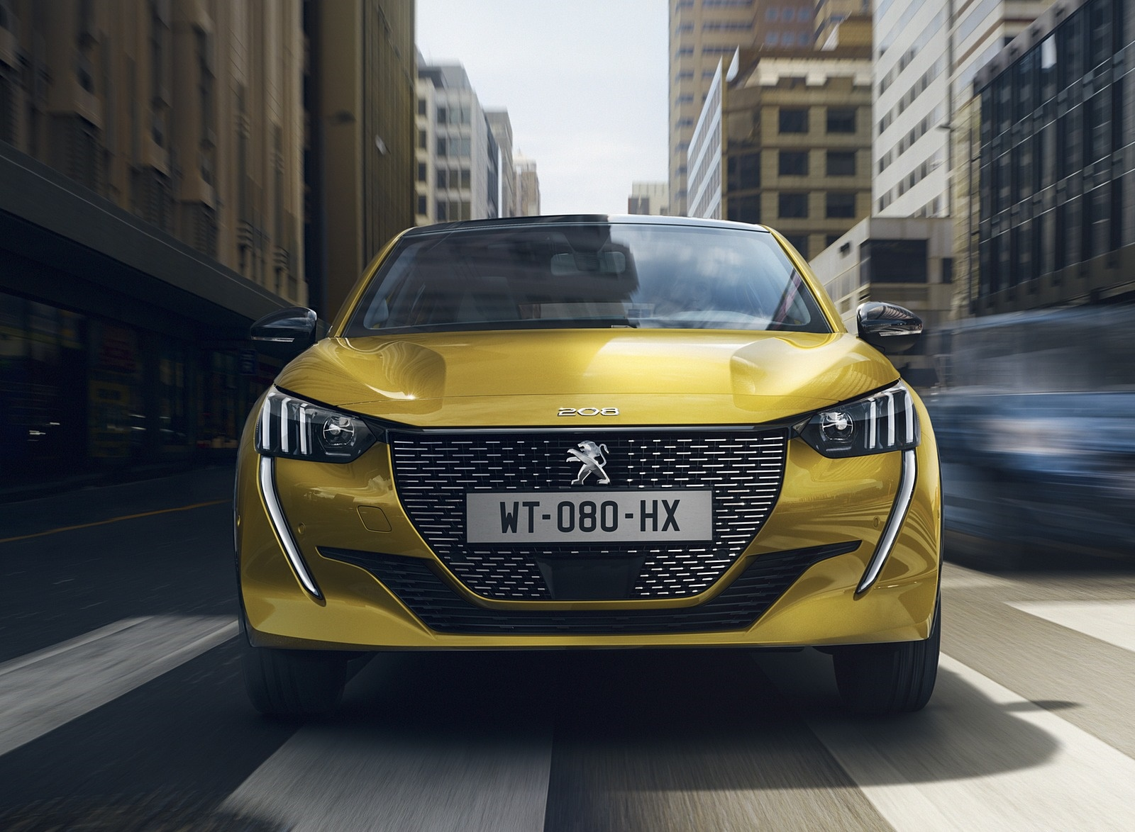 2020 Peugeot 208 Front Wallpapers (2)