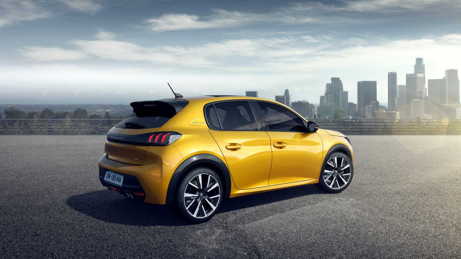 2020 Peugeot 208 Rear Three-Quarter Wallpapers (12)