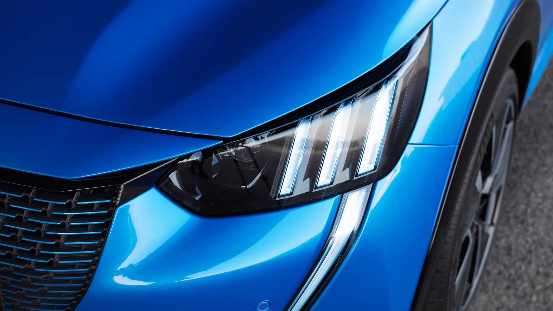 2020 Peugeot e-208 EV Headlight Wallpaper (15)